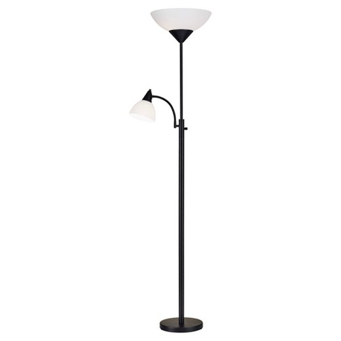 Adesso Piedmont Combo Floor Lamp (Lamp Only) - Black - image 1 of 2