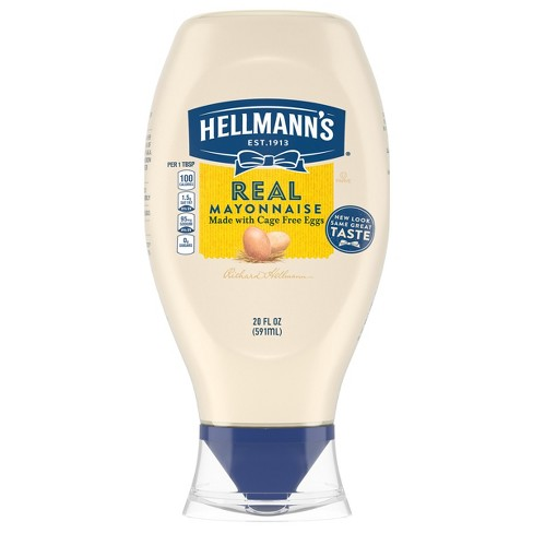 Hellmann's Real Mayonnaise Squeeze - 20oz - image 1 of 5