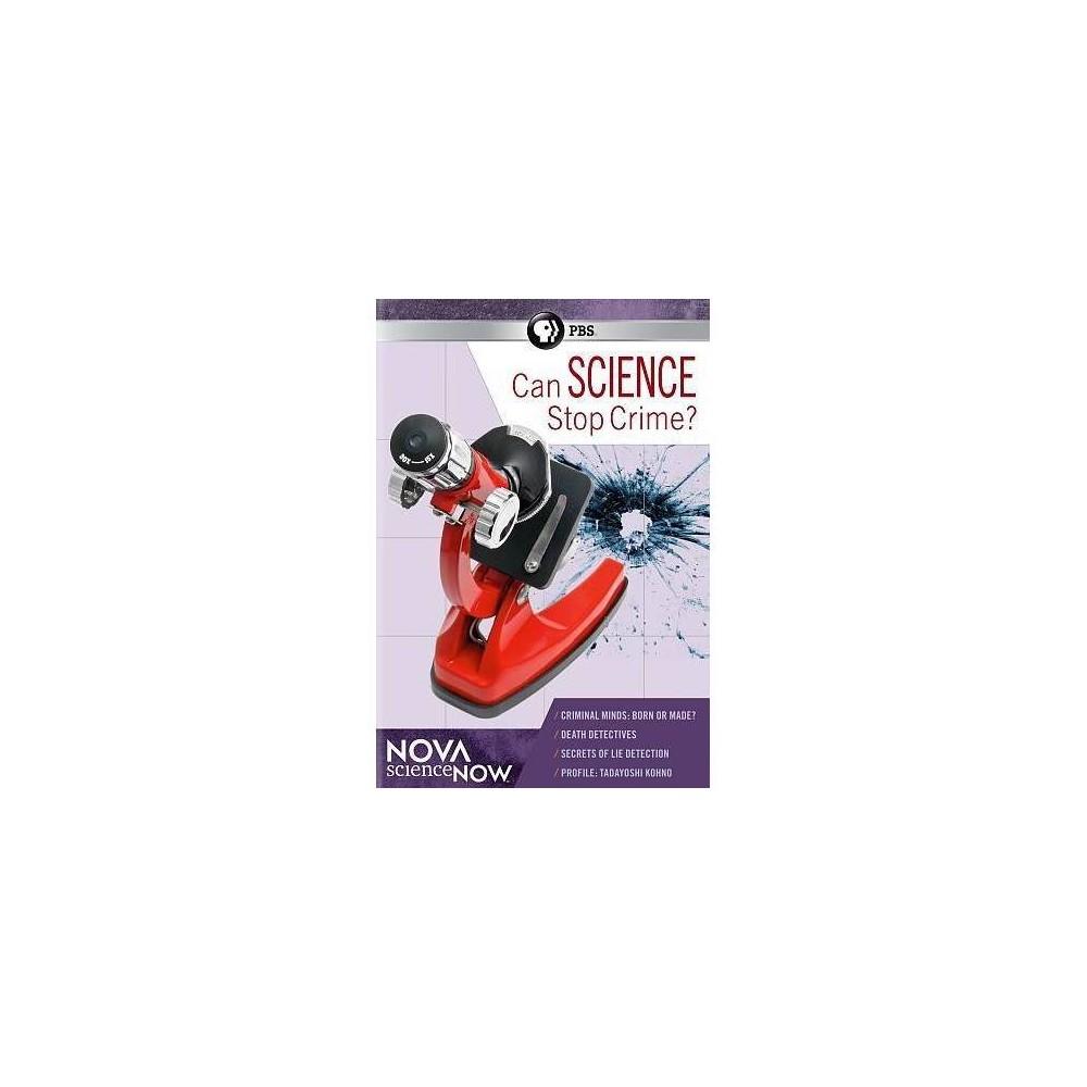 Nova Sciencenow:Can Science Stop Crim (Dvd)