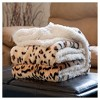 White/Black Throw Blankets - Yorkshire Home - image 3 of 3