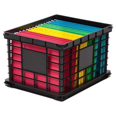 Iris LetterLegal File Storage Crate
