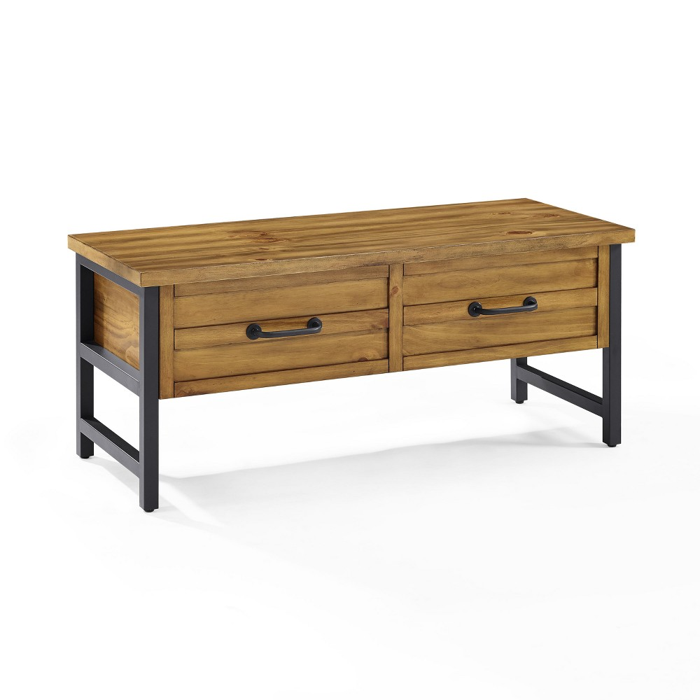 Roots Entryway Bench Natural - Crosley, Natures Brown