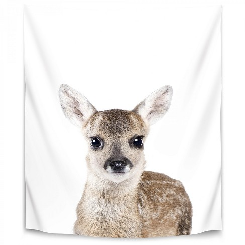 Americanflat Fawn By Sisi And Seb 51 X60 Wall Tapestry Target