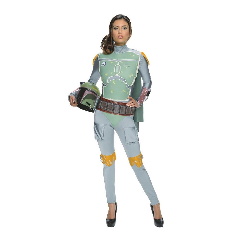 Best Review Women Star Wars Boba Fett Halloween Costume S Multicolored