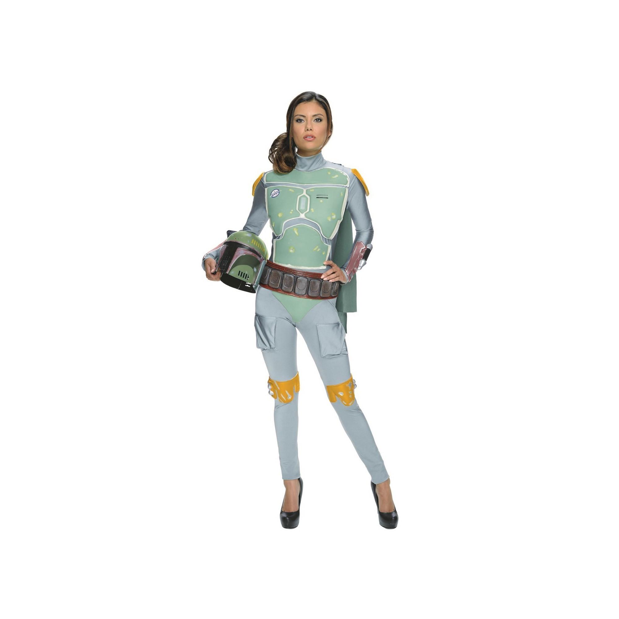 Women's Star Wars Boba Fett Halloween Costume S, Multicolored