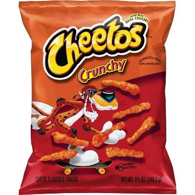 Cheetos Crunchy Cheese Flavored Snacks - 8.5oz