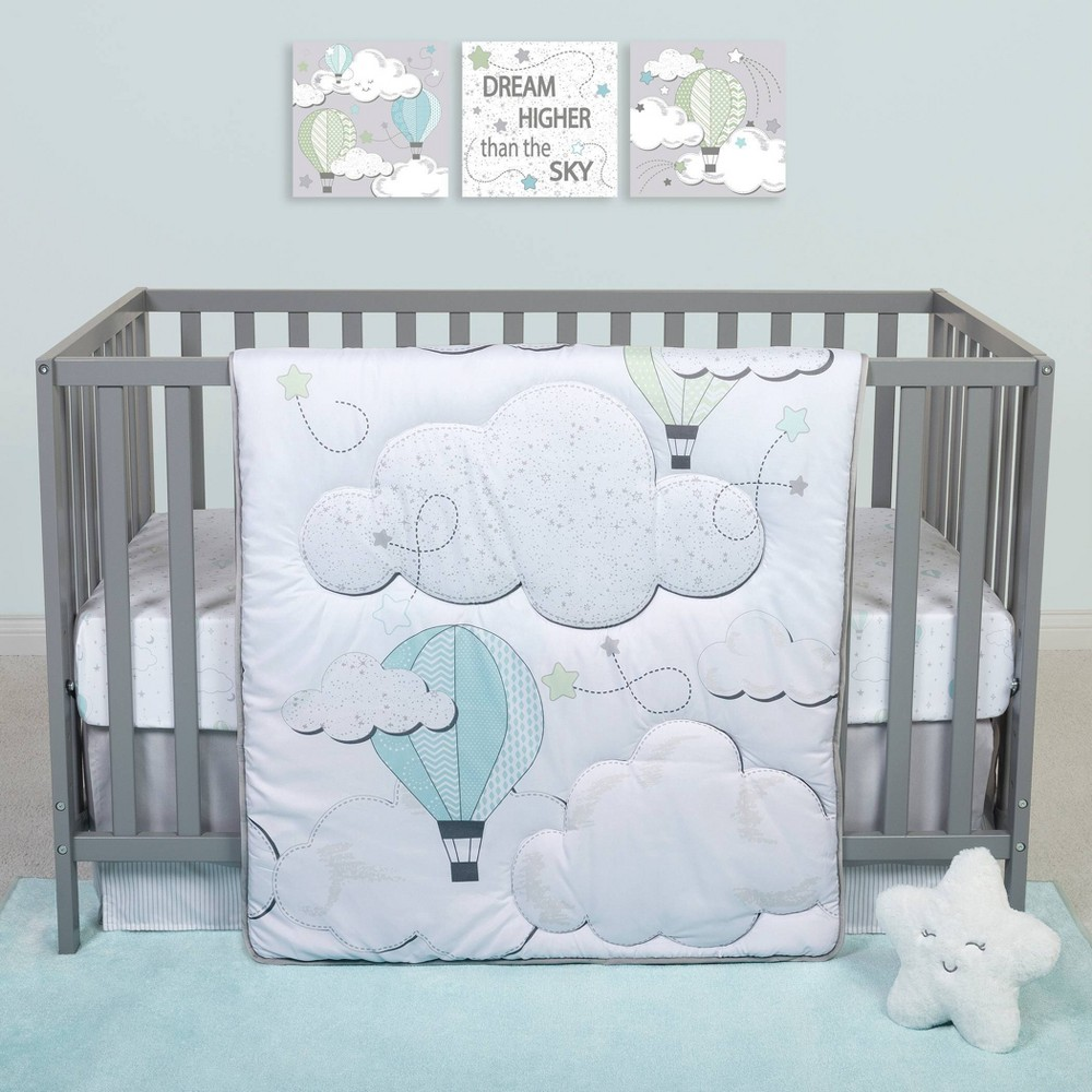 Image of Sammy And Lou Starry Dreams Crib Bedding Set - 4pc