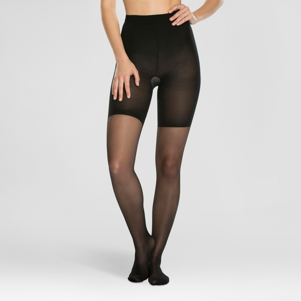 fd9a3f54e5623 ... Size 3 Black Shaping Sheers Style 269b Full UPC 843953138136 product  image for ASSETS by Sara Blakely A Spanx Brand Women's Perfect Pantyhose  1181