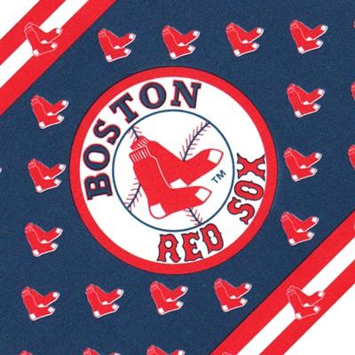 MLB Baseball Accent Wallpaper Border Roll - Boston Red Sox..