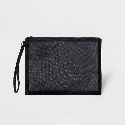 Zip Closure Mesh Pouch Clutch - Shade & Shore™