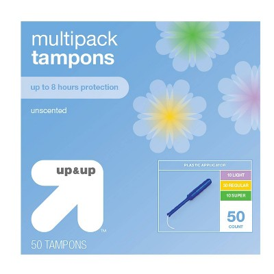 Multipack Tampons - Plastic - 50ct - up & up™
