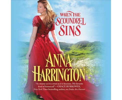 When the Scoundrel Sins (Unabridged) (CD/Spoken Word) (Anna Harrington) - image 1 of 1