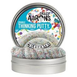 "Crazy Aaron's 4"" Sparkle Tin - Celebrate"
