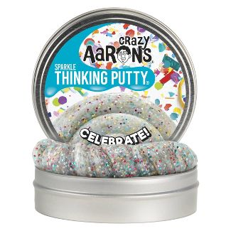 "Crazy Aaron's 4"" Sparkle Tin - Celebrate"