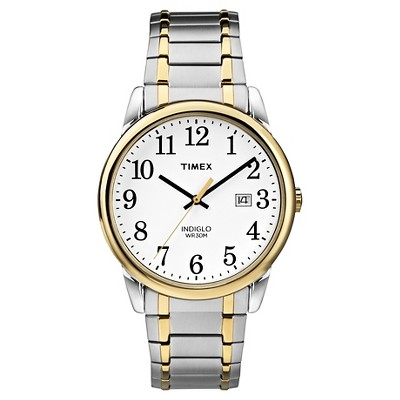 Men's Timex Easy Reader Expansion Band Watch - Two-Tone TW2P81400JT
