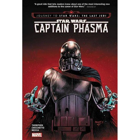 Star Wars: Journey to Star Wars: The Last Jedi - Captain Phasma - (Hardcover) - image 1 of 1