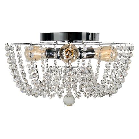 Kenroy home celeste 3 light flush mount ceiling lights target about this item aloadofball Image collections