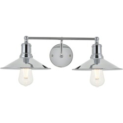 "Elegant Lighting LD4033W21 Etude 2 Light 21"" Wide Bathroom Vanity Light"