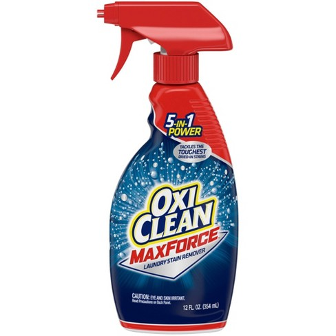 OxiClean MaxForce Laundry Stain Remover Spray - 12 fl oz - image 1 of 3