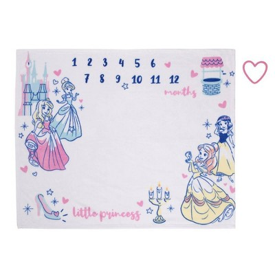 Disney Princess Milestone Blanket