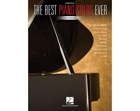 Best Piano Solos Ever -  (Paperback) - image 1 of 1
