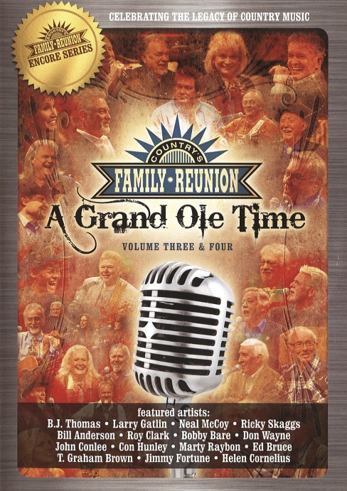 Grand ole time:Vol 3 & 4 (DVD) - image 1 of 1