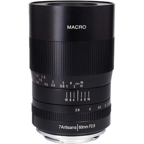 7artisans Photoelectric 60mm f/2.8 Macro Lens For Canon EOS-RF Mount - image 1 of 4