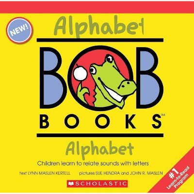My First Bob Books - Alphabet Box Set Phonics, Letter Sounds, Ages 3 and Up, Pre-K (Reading Readiness) - by  Lynn Maslen Kertell (Paperback)