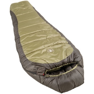 Coleman Mummy 0 Degrees Fahrenheit Sleeping Bag - Brown