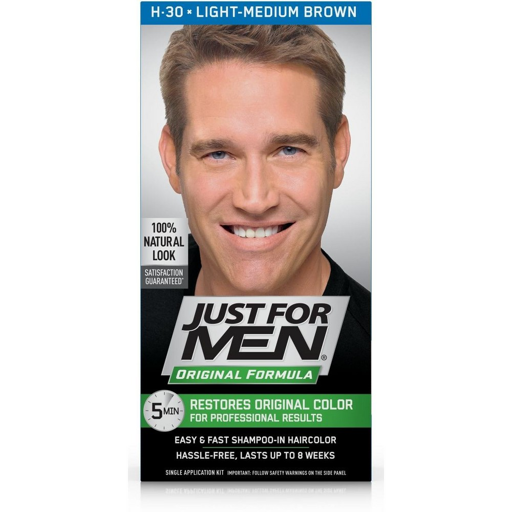 Just For Men Original Formula Light-Medium Brown H-30