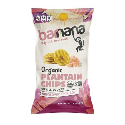 Barnana Himalayan Pink Salt Plantain Chip - 5oz