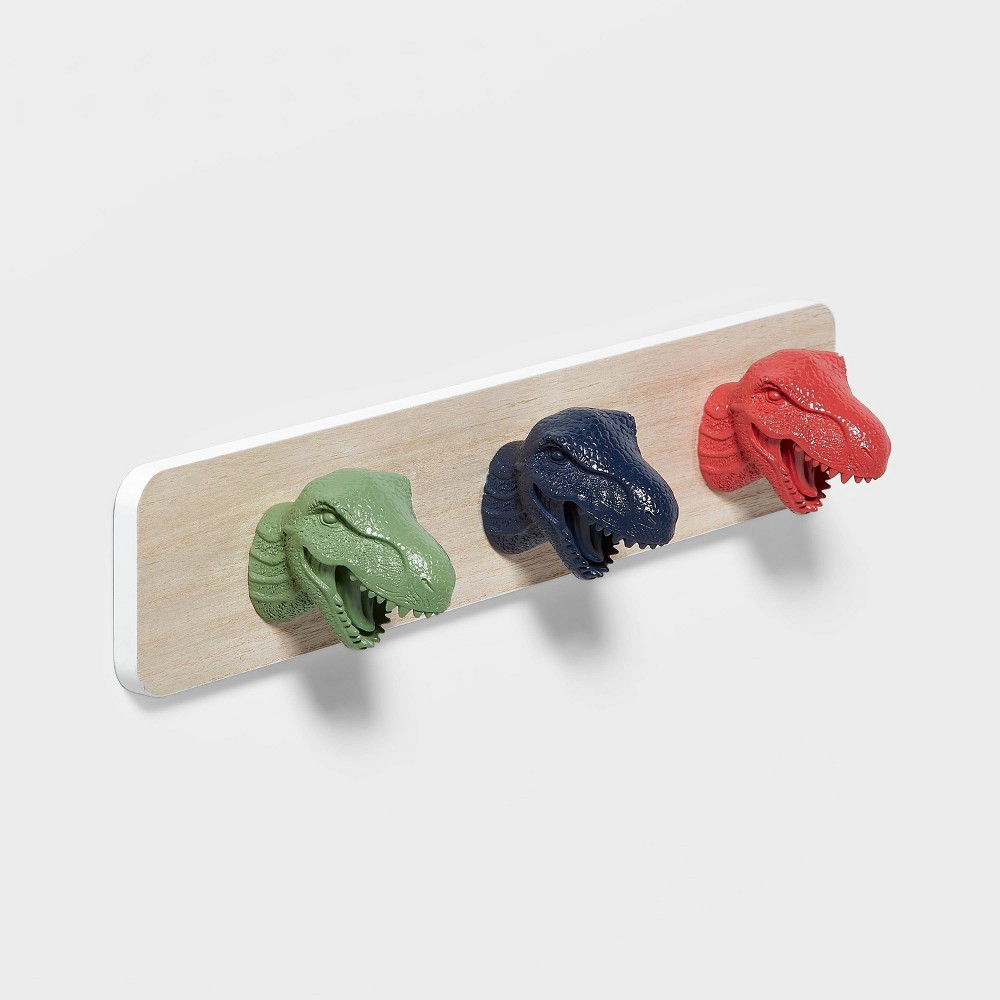 Dinosaur Hanging Wall Hooks Pillowfort 8482