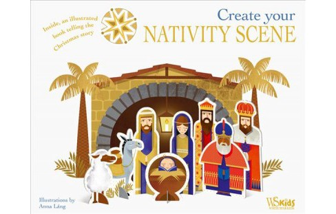Create Your Nativity Scene (Paperback) - image 1 of 1