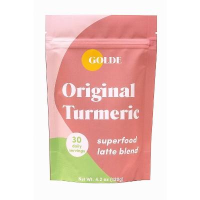 Golde Original Turmeric Superfood Latte Blend - 4.2oz