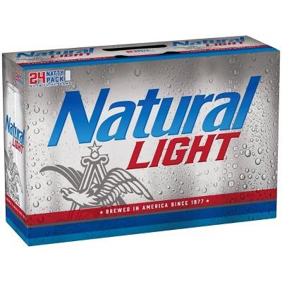 Natural Light Beer - 24pk/12 fl oz Cans