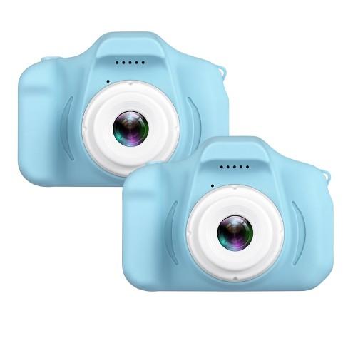 """Dartwood Digital Camera for Kids and Children - 2"""" Color Display Screen 1080p 3-Megapixels, Micro-SD Card Slot (32GB SD Card Included) (2 Pack) - image 1 of 4"""