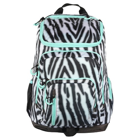 "19"" Jartop Elite Backpack - Black/White Zebra - Embark™ - image 1 of 1"