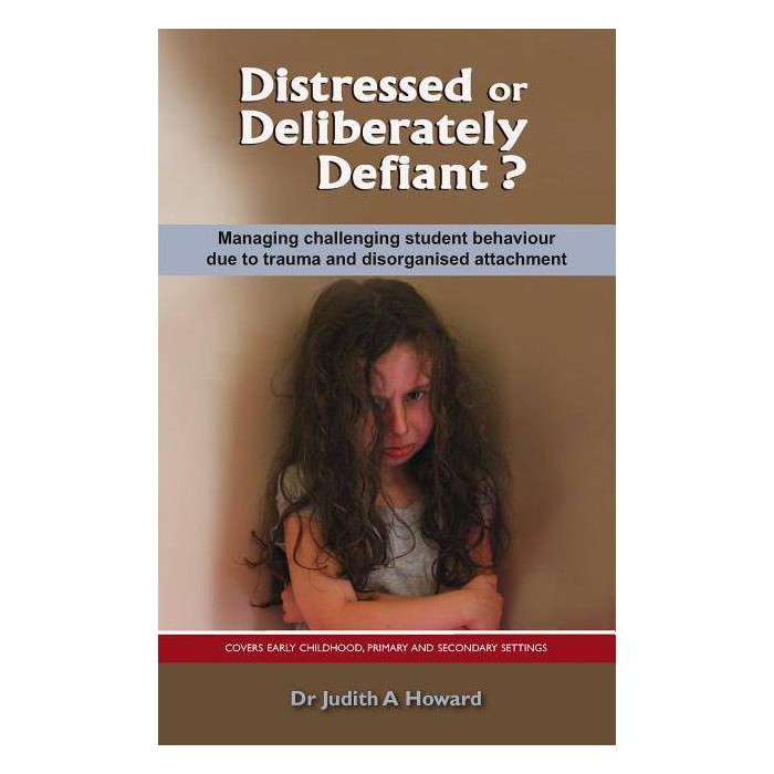 Distressed or Deliberately Defiant? - by  Judith Howard (Paperback) - image 1 of 1