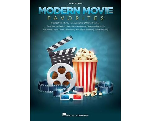Modern Movie Favorites -  (Easy Piano) (Paperback) - image 1 of 1