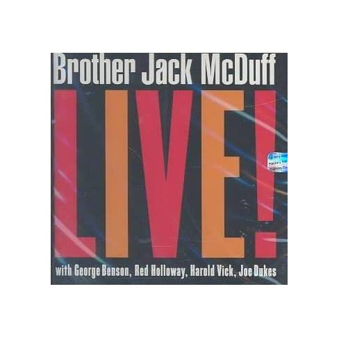 Jack  Jack; McDuff McDuff - Brother Jack McDuff Live! (CD) - image 1 of 1