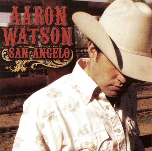 Aaron watson - San angelo (CD) - image 1 of 7