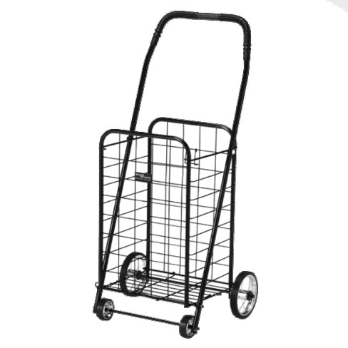 bdae47024b89 Black Folding Shopping Cart