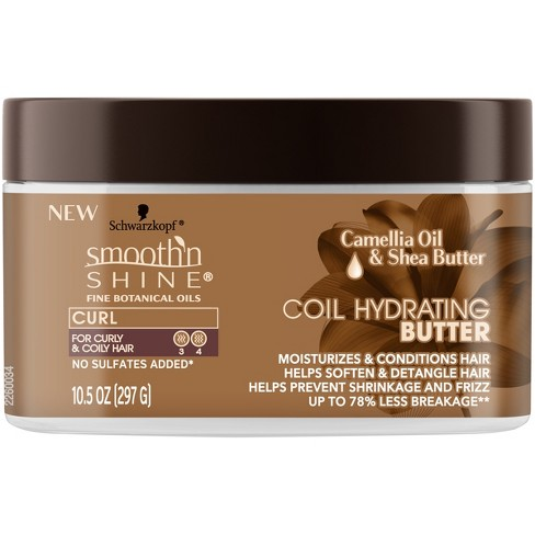 Smooth 'N Shine Coil Hydrating Butter - 10.5oz - image 1 of 2