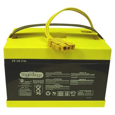 Peg Perego 24 Volt Battery - Black/ Yellow
