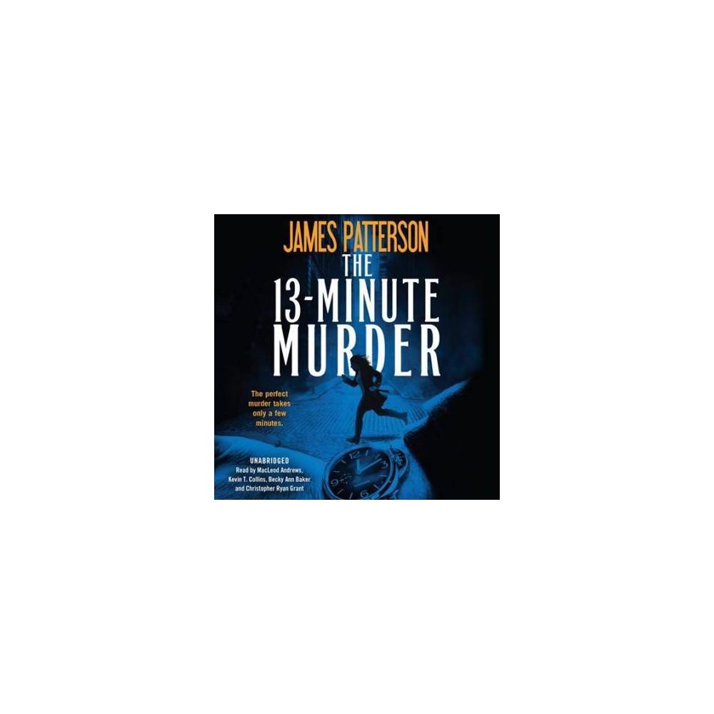 13-minute Murder - MP3 Una by James Patterson & Shan Serafin (MP3-CD)