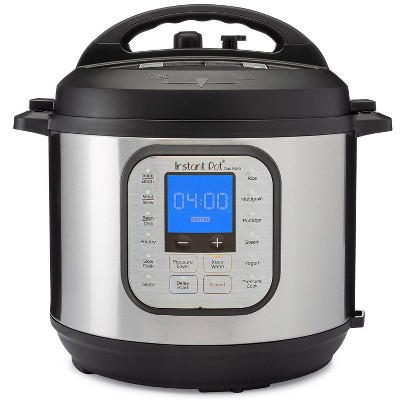 Instant Pot Duo Nova 6 quart 7-in-1 One-Touch Multi-Use Programmable Pressure Cooker with New Easy Seal Lid – Latest Model