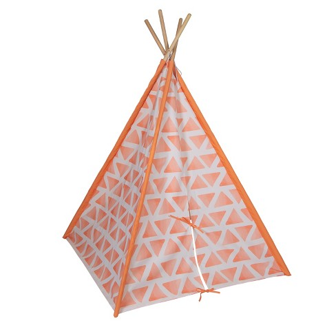 """Pacific Play Tents Kids Peachy Dream Play Teepee 45"""" x 45"""" - image 1 of 4"""