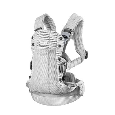 BabyBjorn Carrier Harmony in 3D Mesh - Silver
