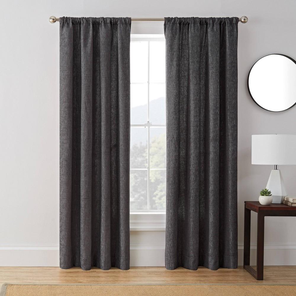 "Reviews 63""x50"" Troy Room Darkening Window Curtain Panel  - Brookstone"