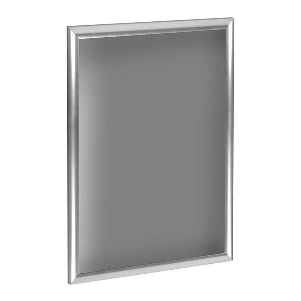 "Image of ""Azar 11"""" x 17"""" Vertical/ Horizontal Snap Frame for Wall Display Only 10ct, Light Steel"""